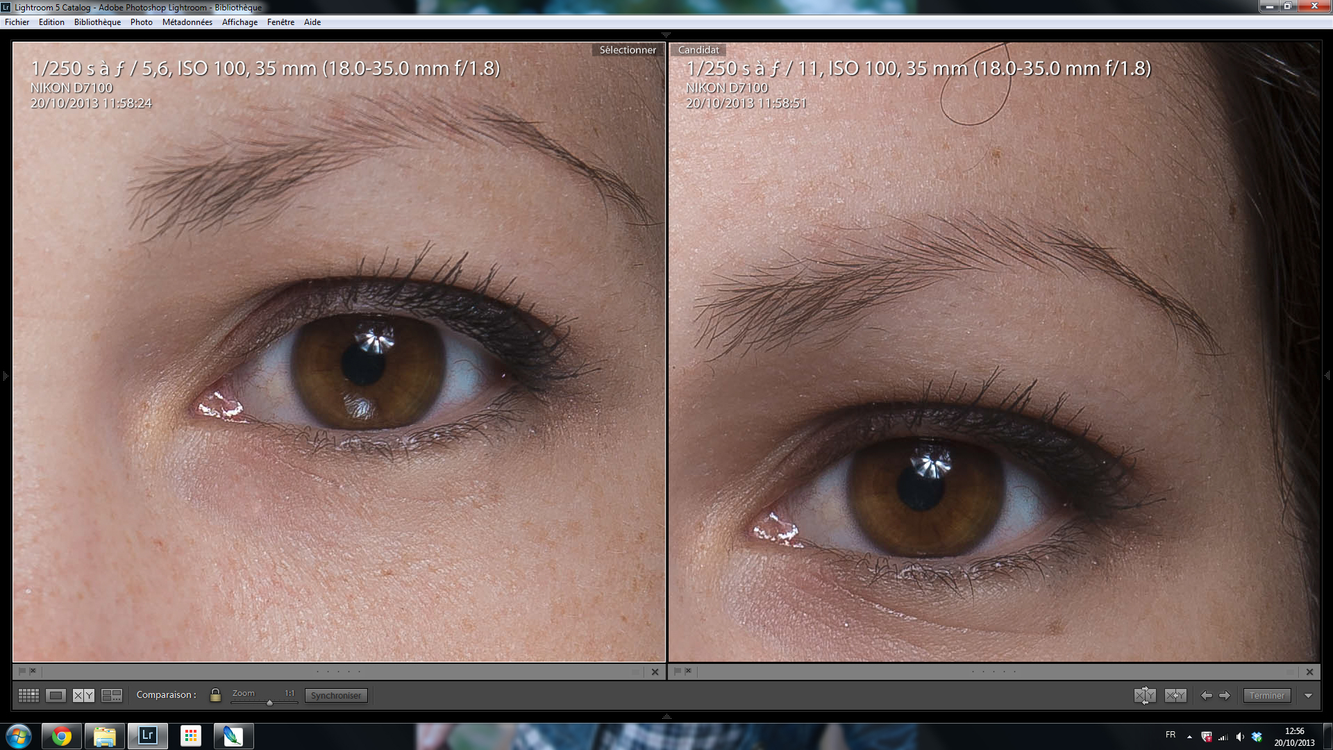 Sigma 18-35 1.8 Art 5.6 vs 11 100%